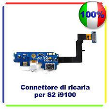 CONNETTORE CARICA micro usb FLEX SAMSUNG S2 GT-I9100