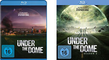 8 Blu-rays * UNDER THE DOME - STAFFEL / SEASON 1 + 2 IM SET  # NEU OVP =