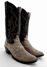 MENS JUSTIN RINGTAIL RINGed LIZARD COWBOY BOOTS RARE WESTERN WORK 8.5 8 1/2 D