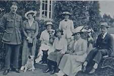 Harry Greer House Party Guests Curragh Grange Co Kildare 1915 Photo Article 9215