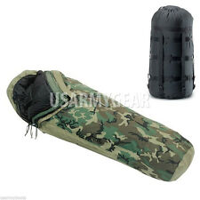 US Military 4 + 1 Pc MSS Modular Sleeping Bag Sleep System GoreTex Bivy +Carrier