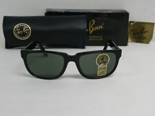 New Vintage B&L Ray Ban Celebrities Ipanema Black W1898 Rectangle Wayfarer  USA