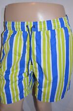 MR. SWIM Man's Swimming Wide Stripe Shorts Trunks  NEW Size Large  Retail $75