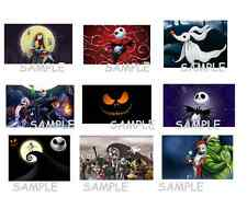 The Nightmare Before Christmas stickers, Jack Skellington,Birthday Party Favors