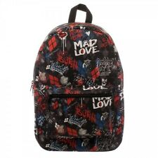 Suicide Squad Harley Quinn Scribble Sublimated Backpack DC COMICS