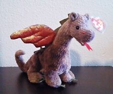 "TY Beanie Baby Original ""Scorch"" Dragon 1998 Retired"