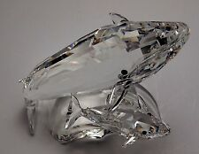 SWAROVSKI CRYSTAL ANNUAL EDITION 1992 WHALES 164614 MINT BOXED CERT BALENA WALE