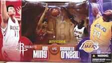 McFarlane Sports NBA Basketball Yao Ming Vs Shaq Shaquille O'Neal AF Box Set .