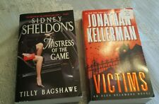 Lot of 2 books: Mistress of the Game & Victims