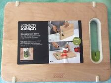 Joseph Joseph Chopping Board with Integrated Knife Sharpener Small  Wood
