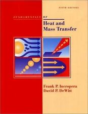 Fundamentals of Heat and Mass Transfer, 5th Edition by DeWitt, David P., Incrope