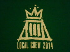 Fall Out Boy 2014 Local Crew T-shirt Size XL