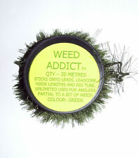 Weed Addict Green 20mtrs - Tackle Lead Disguise  - Carp Coarse Sea