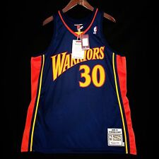100% Authentic Stephen Curry Mitchell & Ness Warriors Jersey Size 48 XL steph *