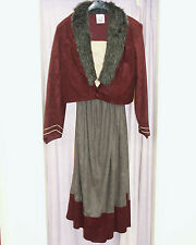 Location quality brand new femme médiéval tudor costume ex large 46 euros bourgogne