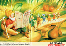 PUBLICITE ADVERTISING 125  1998  Le Figaro Economie  ( 2p)  les offres d'emploi