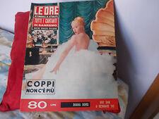 LE ORE  N.348 DEL 9 GENNAIO 1960