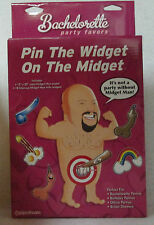 "Pin The Widget On The Midget Game Bachelorette Party Fun Gag Gift 15""x20"" Poster"