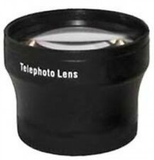 2x Tele Telephoto Lens Black for 55mm 55 mm thread