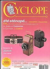 COLLECTION APPAREILS PHOTO REVUE CYCLOPE N 10