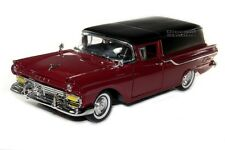 ROAD LEGENDS Collection 1957 Ford Courier Sedan Delivery Die Cast 1/18 Burgundy