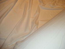 Prezzo di vendita a 1 metri di AVORIO Ondulata cucito COTONE SETA Spandex fabricbe veloce.