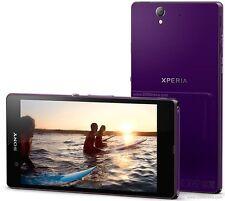 """Original Unlocked SmartPhone SONY Xperia Z C6603- 5.0"""" 4G/3G Wifi 13.1M Purple"""