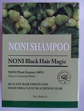 NONI BLACK HAIR MAGIC 20ML.   1 SACHET   LOWEST PRICE ON EBAY