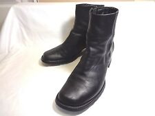 TIMBERLAND BLACK LEATHER UPPER MADE IN CHINA SIZE 10 M
