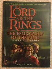 The Lord of the Rings Fellowship of the Ring Visual Companion Book Jude Fisher