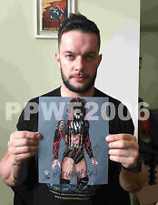 WWE FINN BALOR HAND SIGNED AUTOGRAPHED 8X10 PHOTO FILE PHOTO WITH PROOF 6