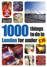 Time Out 1000 Things to Do in London for Under 10 (Time Out Guides)-ExLibrary