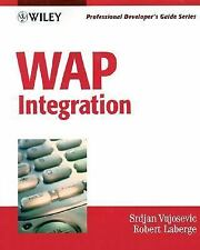 WAP Integration: Professional Developer's Guide-ExLibrary