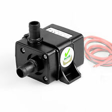 Mini DC 12V 3M 240L/H Brushless Motor Submersible Aquarium Fish Tank Water Pump