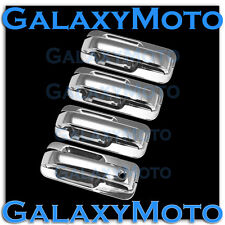 2015-2016 Ford F150 Truck Triple Chrome 4 Door handle+Back Plate Cover 12pcs Set