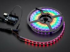Adafruit NeoPixel Digital RGB LED Strip - Black 60 LED - BLACK (4 metre spool)
