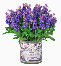 FLOWER ARRANGEMENTS - PROVENCE LAVENDER BOUQUET - SILK FLORAL ARRANGEMENT
