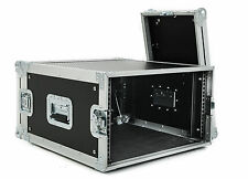 6u Rack Flight Case - 450mm Deep - Rackmount