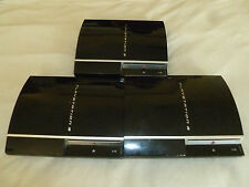 PLAYSTATION 3 PS3 CONSOLE SYSTEM LOT CECHH01 CECHK01 CECHG01 NON WORKING AS IS >