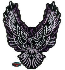 PINSTRIPE EAGLE Patch Écusson Motard Bascule Adler Harley USA