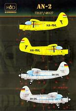 Hungarian Aero Decals 1/72 ANTONOV An-2 COLT Hungarian & German