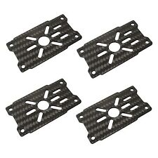 4x 3K CF 2212-5208 Motor Mount Plate for 16mm Pipe Arm Tube Quadcopter DIY