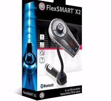 GOgroove FlexSMART X2 ADVANCED Wireless In-Car Bluetooth FM Transmitter ✔NEW✔