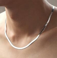 Wholesale 925 silver Plating White Gold Filling Men necklace 50CM holiday gifts