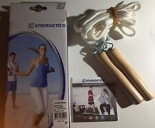 ENERGETICS CORDA DA SALTO JUMP ROPE BROWN/WHITE!!!
