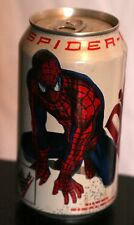 Rare New 2002 Spiderman Movie Diet Dr Pepper 12 oz Can Bottom Drained