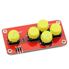 Arduino AD 5 Button Game Pad -  2 Axis Plus 1 -  Five Key Module