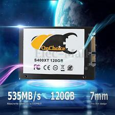 120GB 7mm OnChoice 2.5'' SATA 3.0 SSD Solid State Drive 120G For Laptop Computer