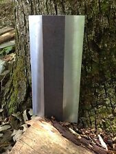 "LOG SPLITTER WEDGE DOUBLE EDGE 12"" WELDABLE 12"" HIGH A36!!!"