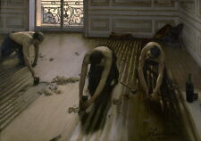 Gustave Caillebotte The Floor Planers canvas giclee print reproduction poster HD